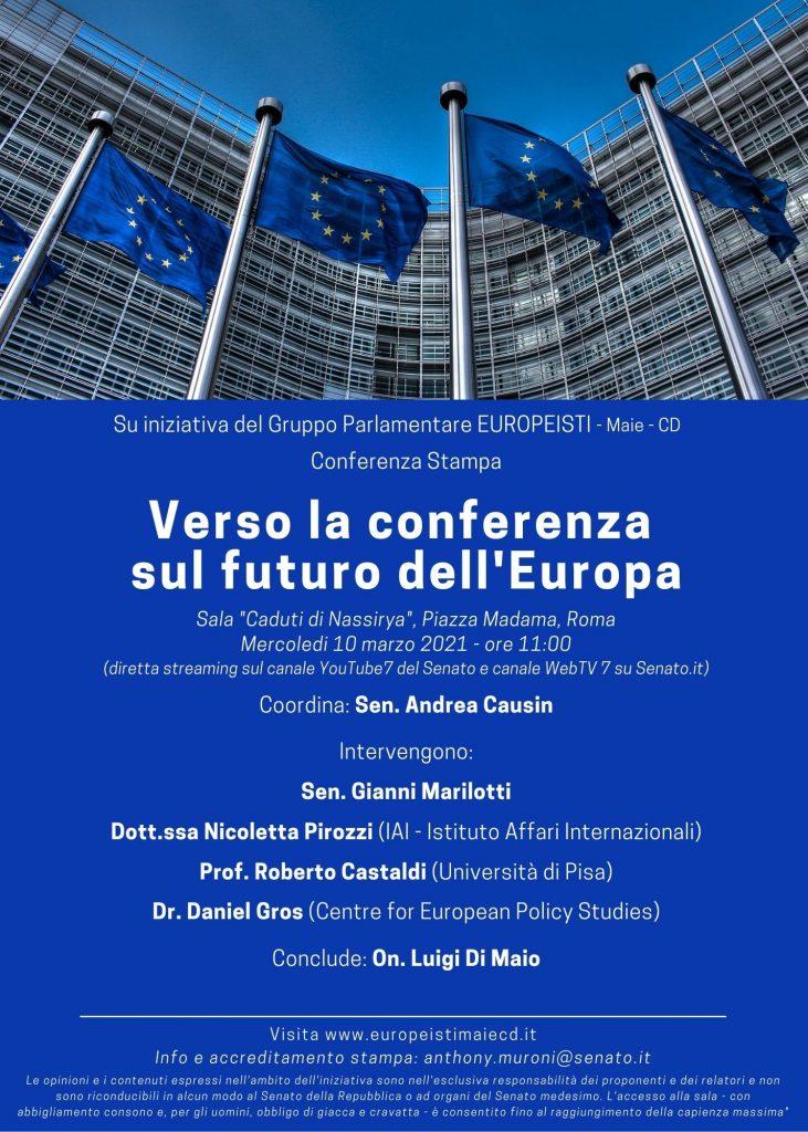 Verso la conferenza sul futuro dellEuropa