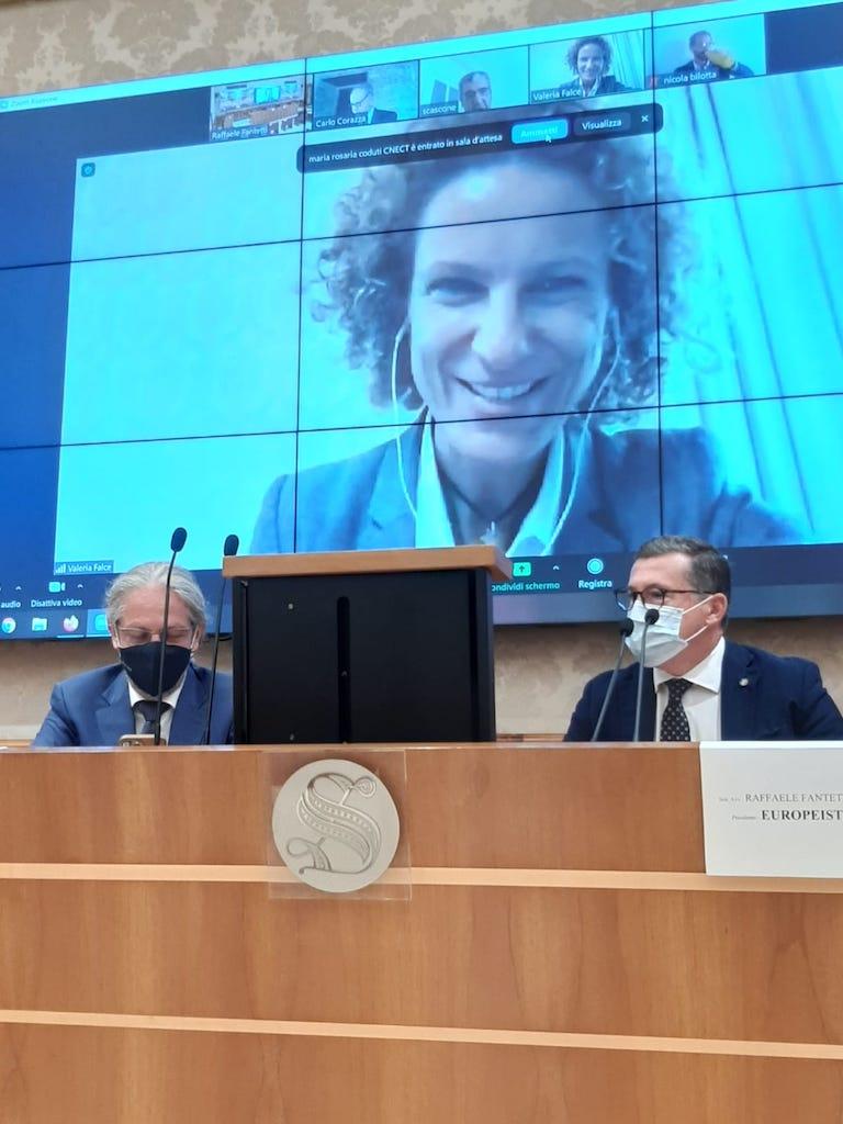 2 Sovranità dei dati Europeisti Falce ministero innovazione